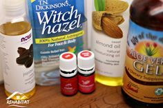 Ingredients and instructions to make DIY aftershave