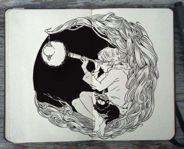 Moleskine-Art-by-Gabriel-Picolo-4                                                                                                                                                     Más