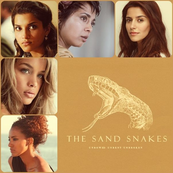 asoiaf fancast arianne martell and the sand snakes