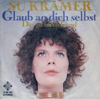 """Su Kramer - """"Glaub an dich selbst"""", german preselection for the Eurovision Song Contest 1972, place 2"""