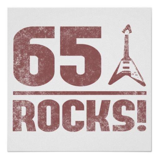 de 65ste Rotsen van de Verjaardag