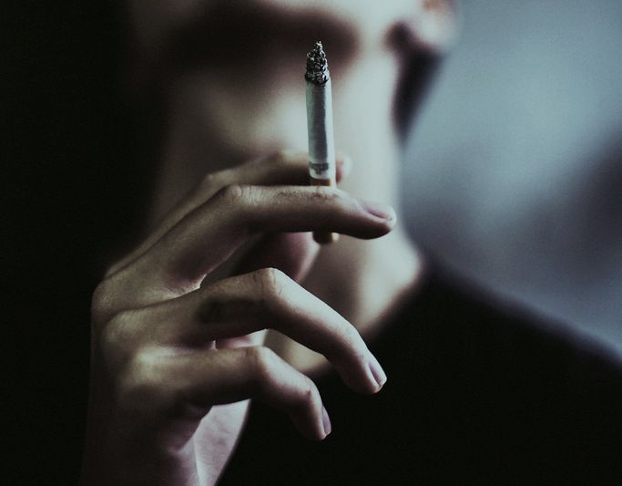 """""""he didn't want the nicotine; he wanted the acrid smoke that reminded him of his mother"""""""