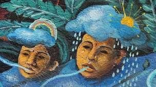 heads depicting weather