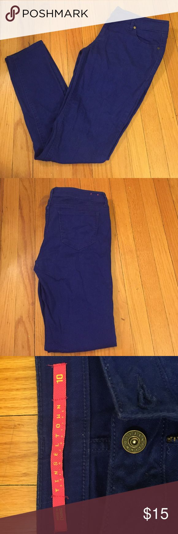 Tinseltown blue jeans Tinseltown BLUE stretch jeans - love these and price is always negotiable Tinseltown Jeans Skinny