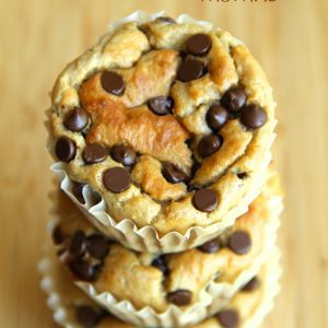 . banana oat greek yogurt muffins try instead of other muffins