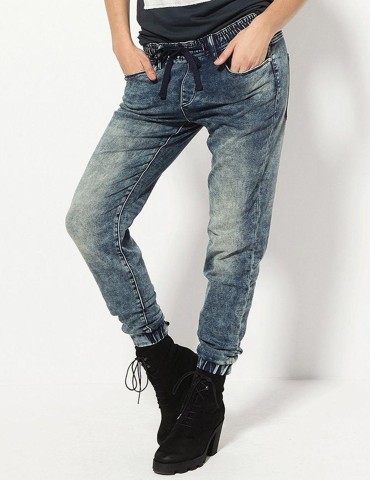 Spodnie Shelia Blue - spodnie jeans - Spodnie - Kolekcja damska – Diverse