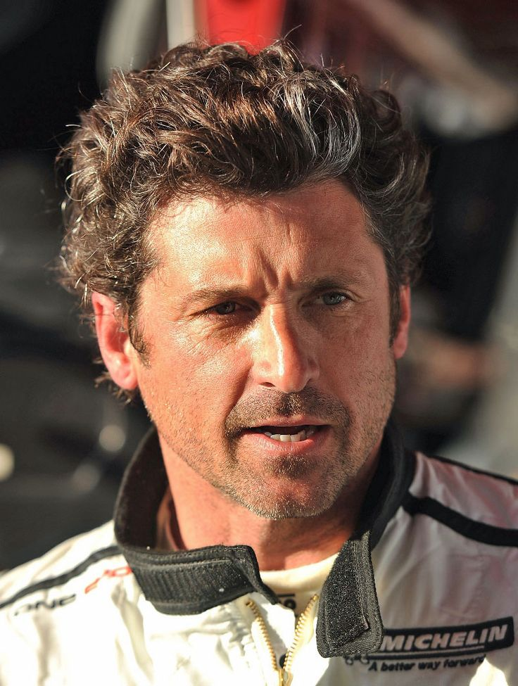 Patrick Dempsey. Racecar driver. = HOT.