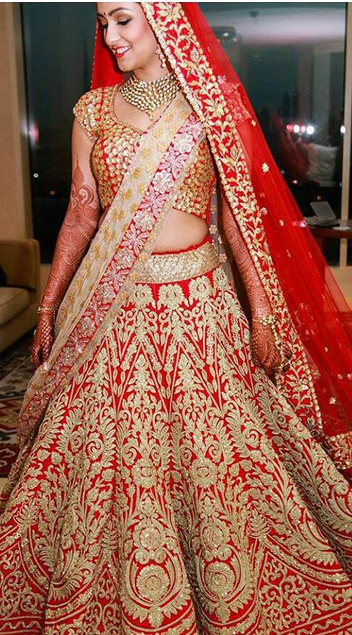 Adorable Red Raw Silk Designer Bridal Lehenga Choli With Double Dupatta TH0104  Our collection of beautiful bridal lehenga choli with double dupatta collection has come with amazing style and glamorous design…which looking mesmerizingly beautiful. This is a custom made design which can be made in any color and size.