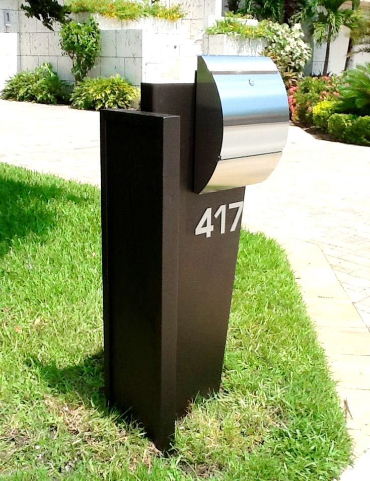 A modern and new MAILBOX can improve the look of your house in a flash! Extremely affordable and ready to install. The quickest remodeling you can do to your property. Consider one of our beautiful models @ http://moderntouchdesign.com/product-category/mailboxes/ - moderntouchdesign.com