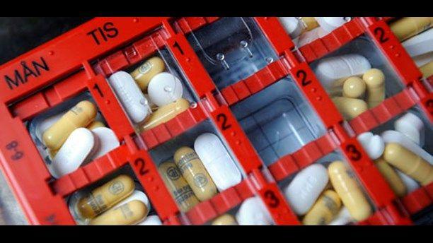 Sjuk av mediciner