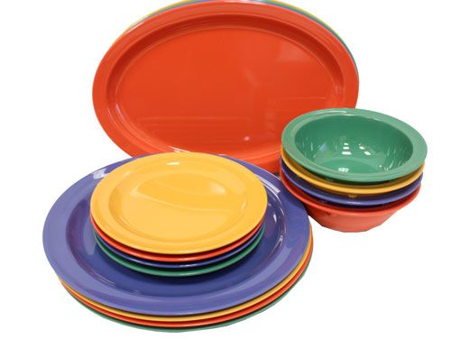 Melamine plastic dishes bowls platters and mugs GET Supermel restaurant dinnerware  sc 1 st  Pinterest & 187 best melamina images on Pinterest | Dish sets Dinner ware and ...