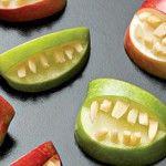 Receitas para halloween: bocas terríveis com frutas