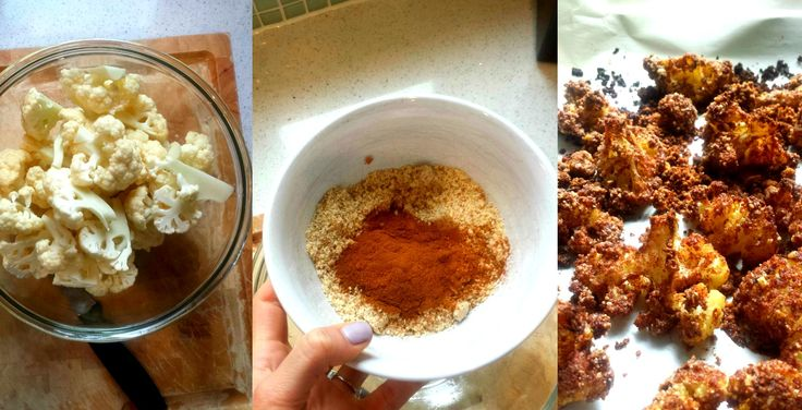 THANKSGIVING CINNAMON CANDIED CAULIFLOWER