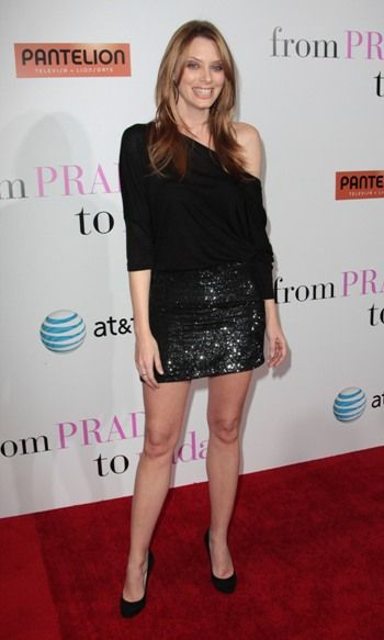 April Bowlby Red Carpet  | Drop Dead Diva star April Bowlby also appears in From Prada to Nada ...