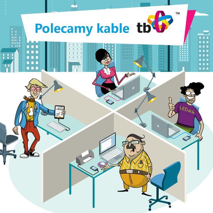 #Kabel kabelkowi nie równy, a najlepszą jakość polecają Wam tylko #OfficeWarriors! ;) #cable #gadget #TB ➡ http://goo.gl/FVSqpi