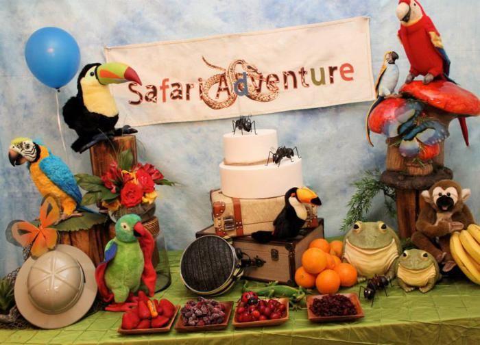 Sahara Safari Jungle Adventure Boy Girl Party Planning Ideas Decor