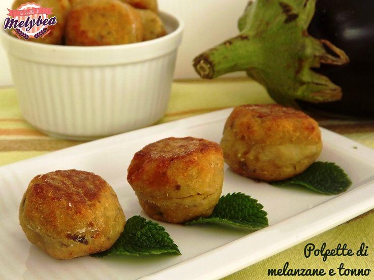 polpette di melanzane e tonno perfette in forno usando semola al posto di farina