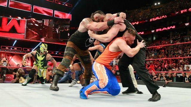 WWE: Resultados de Monday Night Raw 14 de agosto de 2017