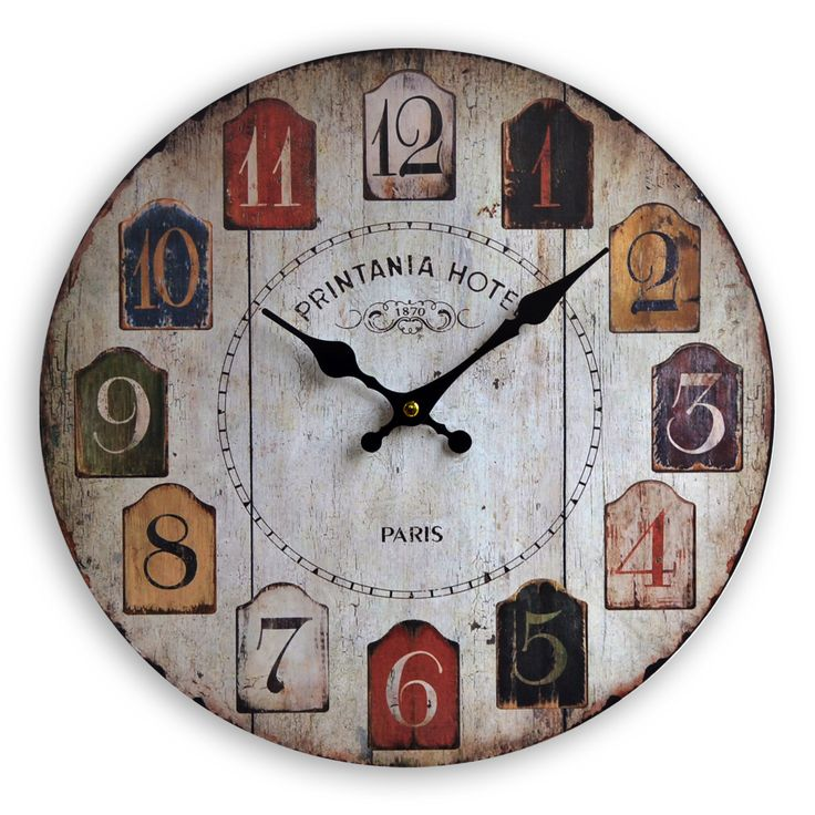 94 best images about free vintage clocks on pinterest - Reloj pared vintage ...