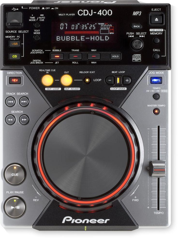De belangrijkste kenmerken ontdekken van de Pioneer DJ CDJ-400, Digitaal CD-deck met MP3 en USB-audio (black)