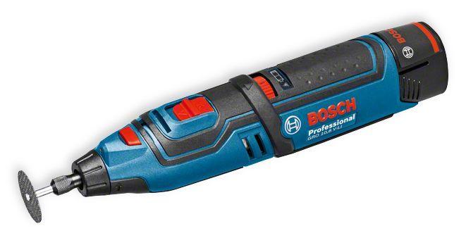 Bosch Rotationswerkzeug GRO. Baugleich mit Dremel, von dem auch das Zubehör passt.