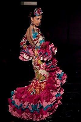 La vida es corta, ponte tacones!!: Moda flamenca
