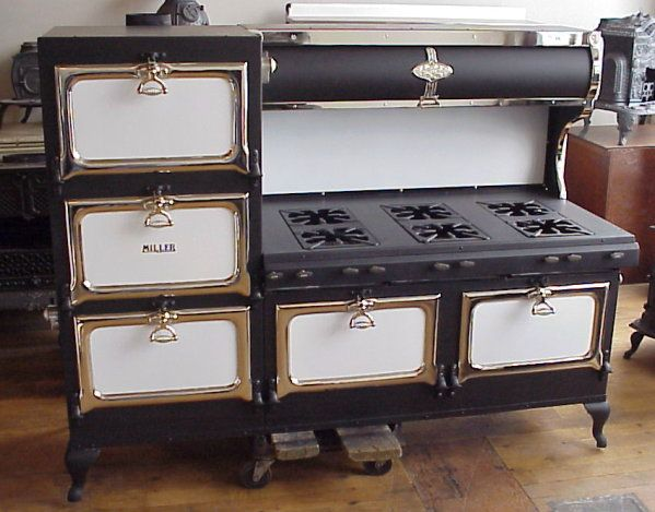 Vintage Kitchen Stoves Wall Cabinets Antique Tekonsha Michigan United States Antiques Dealer At In 2019 Stove
