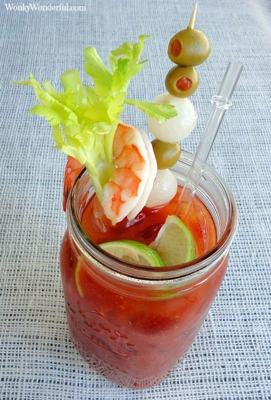 Bloody Mary Recipe: Love a good and spicy bloody mary! My favorite