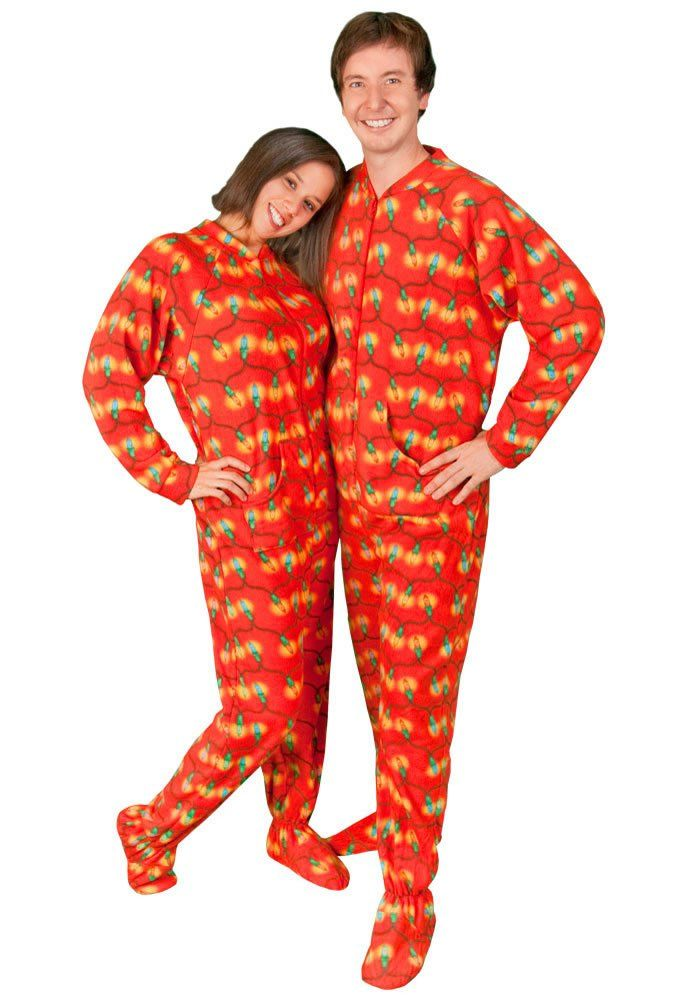 23 best Christmas Footed Pajamas for Adults images on Pinterest ...