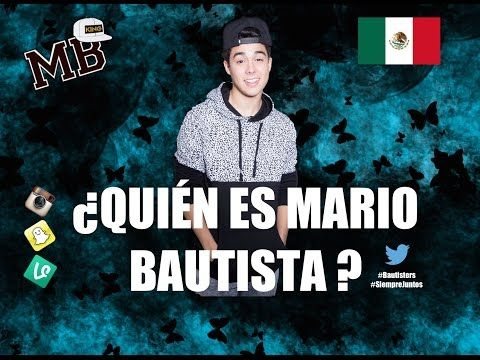 Quien es Mario Bautista // Mario Bautista - YouTube