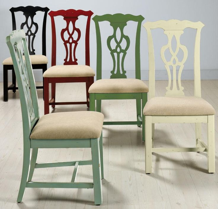 Chippendale Style Side Chair Side Chairs Kitchen And