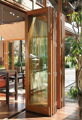 Best 25 Accordion Doors Ideas On Pinterest Diy Exterior Folding Doors Enclosed Patio And