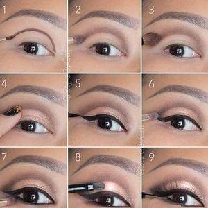 Makijaż - Ciekawy makijaż krok po kroku