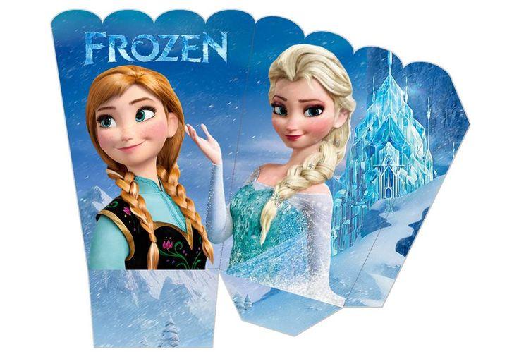 Cajita para palomitas de maíz Frozen