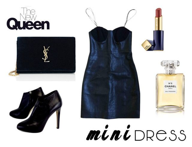 """""""Mini"""" by elena-anders on Polyvore featuring Yves Saint Laurent, Giuseppe Zanotti, Estée Lauder and Chanel"""