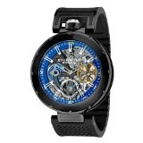 Schwab Amazon Promo codes: Best Prices Stuhrling Original Men's 324.335651 Emperor Vortex Automatic Skeleton AM/PM Indicator Dual Time Blue Dial Watch - http://watchesmans.net/best-prices-stuhrling-original-mens-324-335651-emperor-vortex-automatic-skeleton-ampm-indicator-dual-time-blue-dial-watch