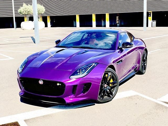 This Is The Purple Ftype Owner Jaguar F Type Jaguar Car Jaguar