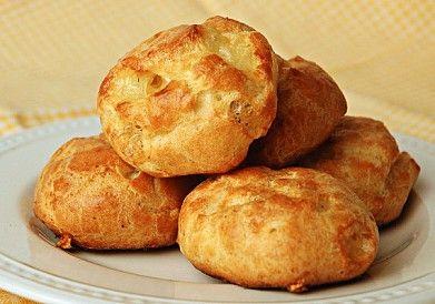 Гужеры (французские булочки с сыром)