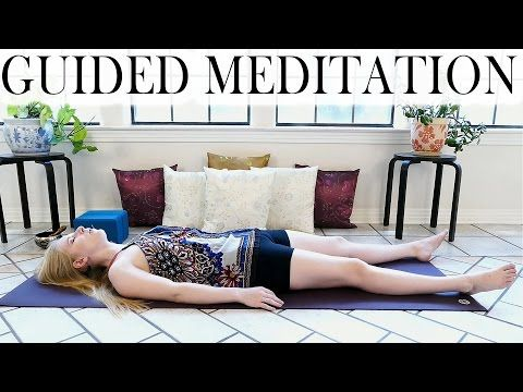 Guided Meditation For Deep Relaxation, Anxiety, Sleep or Depression – Beginners Yoga Meditation - YouTube