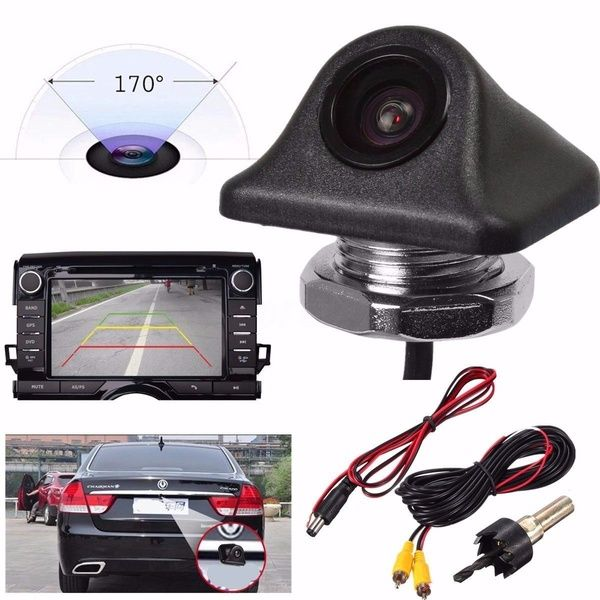 HD Waterproof 170° Car Reverse Backup Night Vision Camera Rear View Parking Cam