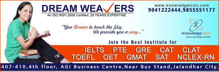 Your Dream to touch the sky... We provide you a way... #IELTS #PTE #GRE #CAT #CLAT #TOEFL #OET #GMAT #SAT 9855551177, 9041222444