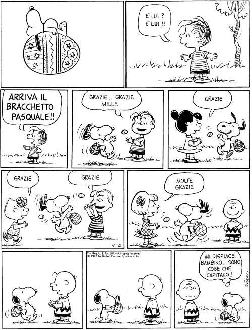 Pasqua: Peanuts Snoopy, Bracchetto Pasquale, Mafalda, Easter, Charlie Brown, Happy Easter