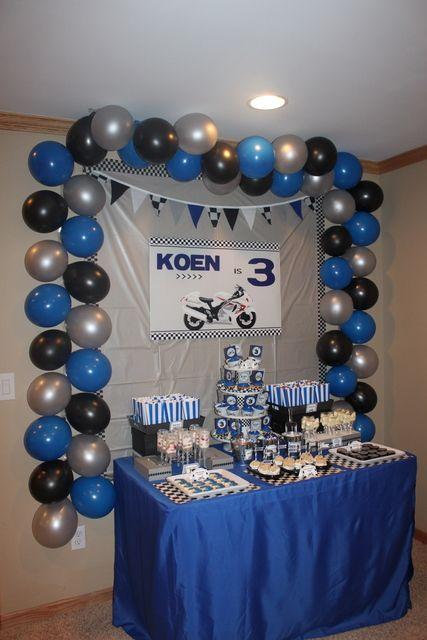 "Photo 8 of 24: Sportbike (Hayabusa) / Birthday ""Motorcycle 3rd Birthday"" | Catch My Party"