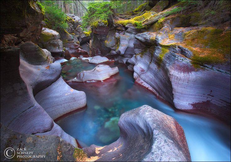 Glacier Slot Canyon