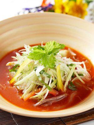 【ELLE a table】ヤリイカの水刺身(ハンチムルフェ)レシピ|エル・オンライン