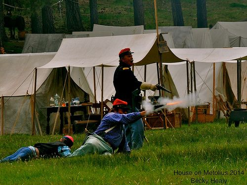 House on metolius civil war reenactment near sisters for House on the metolius