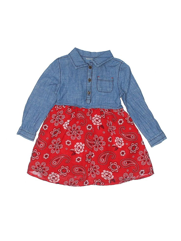 Healthtex Dress Blue Skirts Dresses Used Size 3toddler Clothes Second Hand Clothes Fashion