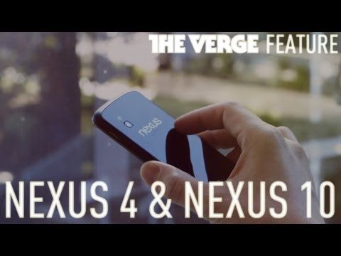 The Verge with Matias Duarte: Nexus 4, Nexus 10, Android 4.2: an exclusive first look from inside Google HQ