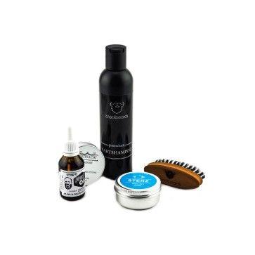 """Hier kommt das Bartpflege-Set """"Best of"""", das dir entweder den Grundbedarf der Bartpflege liefert oder einfach frischen Wind in deine tägliche Bartroutine bringt. #Bartpflege #Beardcare #Bartöl #Beardbalm #Bartbürste #Bartshampoo blackbeards.de"""