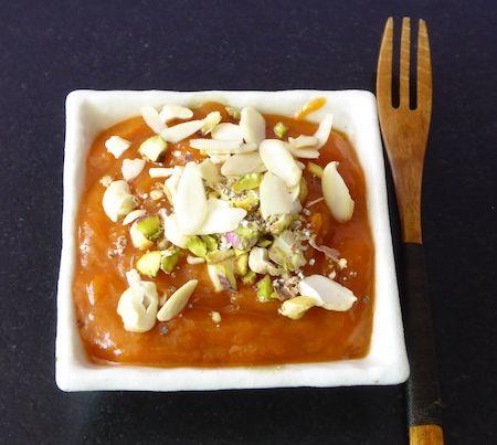 Etwas seasonal: Aprikosen Halwa (http://www.karai.de/…/kochen-nach-jahre…/491-aprikosen-halwa)